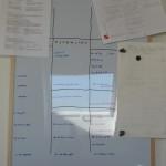 """board (Plotten: Das """"Licht …"""")"""